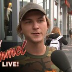 Jimmy Kimmel Gets People To Talk About Donald Trump's First Day In Office On 'Lie Witness News'