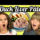 Kids React: Duck Liver Pate