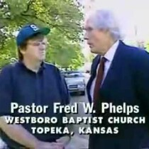DEAD: Rev. Fred Phelps from Westboro Baptist Church