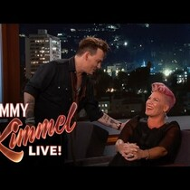 VIDEO:  P!nk Completely Loses Her Cool When She Meets Her Crush Johnny Depp
