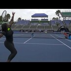 Dude Perfect Tennis Trick Shots with Serena Williams