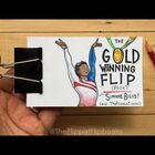 Simone Biles' Floor Routine As A Flip Book