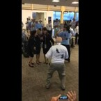 Veterans are Dancin' Up A Storm at Reagan International Airport