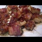Bacon wrapped shrimp!