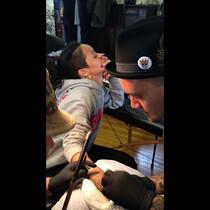 Rihanna Gets Painful CHISEL Tattoo! [VIDEO]