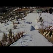WATCH: Girls First Ski Jump Will Be The Inspiration Thing You See Today