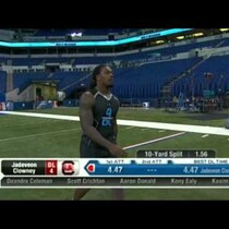 Jadeveon Clowney - 40 yd dash at the Combine