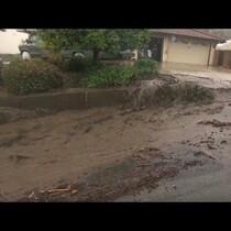 See mudslides wreck havoc on Southern California