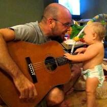 Baby rocks Bon Jovi