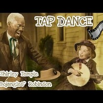 Shirley Temple Dances With Bill