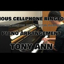 Famous Cellphone Rings On Piano