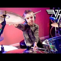 WATCH: 6yr old plays Van Halen on the drums