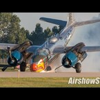 WATCH A-26 Invader Skids Down The Runway Nose First Upon Landing