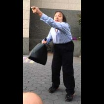 VIDEO: GUY DERAILS OVER A STREET TRUMPET PLAYER! HELLA FUNNY!!