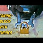 Can You Actually Break A Padlock With Wrenches?