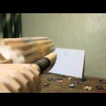 672 rounds! Rubber Band Machine Gun