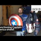 YouTuber Makes A Working Captain America Shield