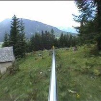 Alpine Coaster with no brakes!