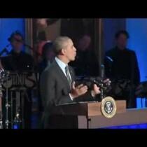 President Obama MISPELLS