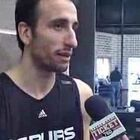 Throwback Thursday - Mike Taylor with Manu Ginobili