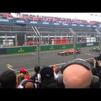 F1 Car race sound comparison