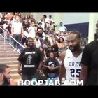 Terrible Flop Helps Player Avoid Brawl in Drew League Final