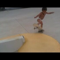 WATCH: Amazing Skateboarding 2 Year Old!