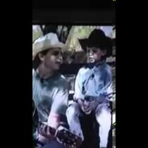 Little Thomas Rhett sings Joe Diffie with his Dad - Rhett Akins