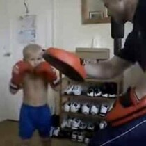 VIDEO: Check This Kid Out. Future MMA Fighting Star?
