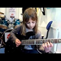 WATCH: She can sure ROCK!