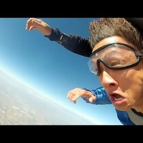 Guy Passes Out On His Birthday, Wakes Up Skydiving [VIDEO]