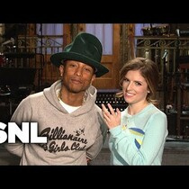 Pharrel & Anna Kendrick's SNL promos are here!