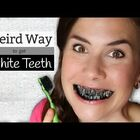 Whiter teeth using charcoal?