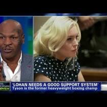 Mike Tyson on Lindsay Lohan