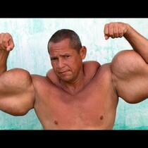 Man with 29 inch biceps: My Supersized Muscles Are Fake