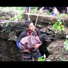 Dog Sobs At Sight Of Rescuers.