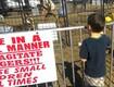 BONUS VIDEO: Tiger Attacks Trainer as Kids Watch