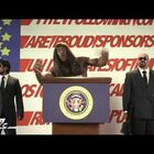 President Camacho addresses the Election
