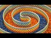 WATCH: Triple Spiral Dominoes