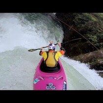 Guy Rides Kayak Over 60 Foot Waterfall!