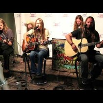 Blackberry Smoke Performs in KAT 103 Listener Lounge