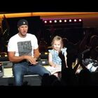 Little Girl Steals The Show From Luke Bryan