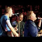 James Corden Sings With Coldplay At Rose Bowl!