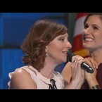 Live Rendition of What the World Needs Now Is Love with Idina Menzel, Kristen Bell and Even A Cagney and Lacey Reunion!