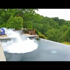 Dry Ice Meets A Swimming Pool