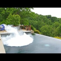 Viral: What Happens If You Drop 30 lb of Dry Ice in POOL ... [Video]