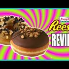 KRISPY KREME IS MAKING REESE'S PEANUT BUTTER CUP DONUTS