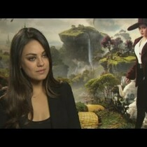 Mila Kunis talks about 'Great and Powerful Oz'