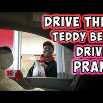Drive-Thru Teddy Bear Prank [WATCH]