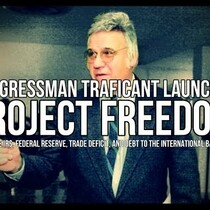 Jim Traficant Launches Project Freedom To End The IRS, Federal Reserve